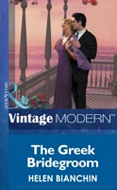 Greek Bridegroom (Mills & Boon Modern)