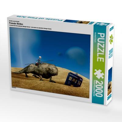 Ein Motiv aus dem Kalender Fremde Welten (Puzzle)