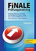 FiNALE Prüfungstraining 2018 Zentrale Klausuren am Ende der Einführungsphase Nordrhein-Westfalen