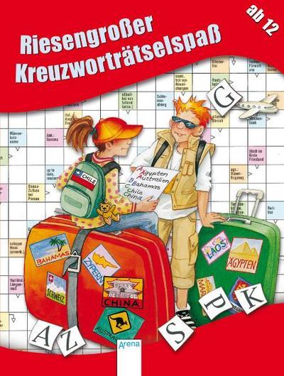 Riesengroßer Kreuzworträtselspaß   ; Deutsch; , zahlreich -