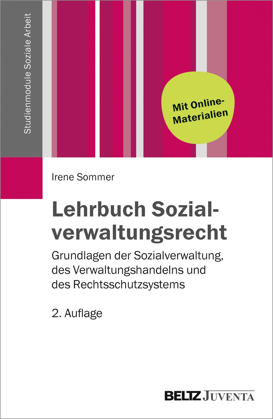 Lehrbuch Sozialverwaltungsrecht   Irene Sommer    9783779930747