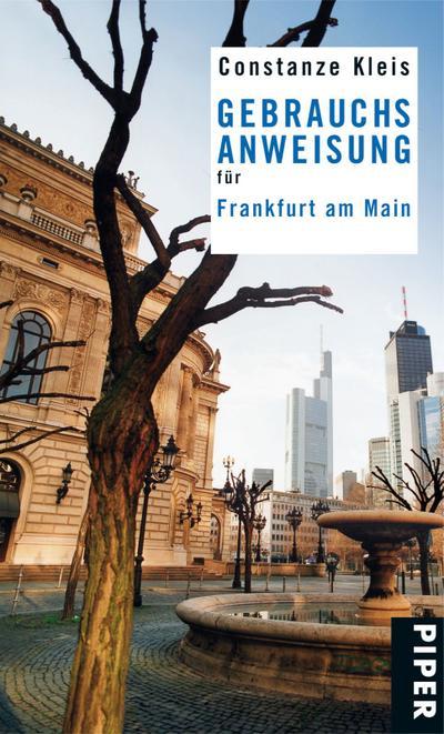 Gebrauchsanweisung für Frankfurt am Main