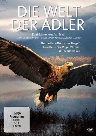 """Die Welt der Adler - """"Steinadler - König der Berge?"""", """"Seeadler - Der Vogel Phönix"""" und """"Wilde Slowakei"""""""