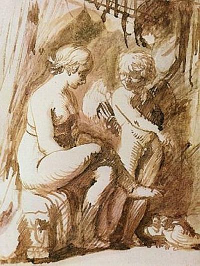 Adam Elsheimer - Venus und Amor - 500 Teile (Puzzle)