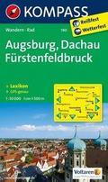 Augsburg - Dachau - Fürstenfeldbruck 1 : 50 000