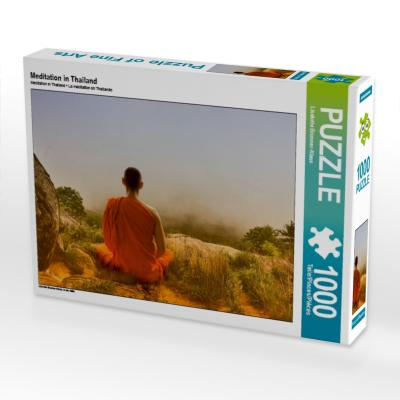 Meditation in Thailand (Puzzle)