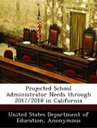 United States Department of Education: Projected School Admi