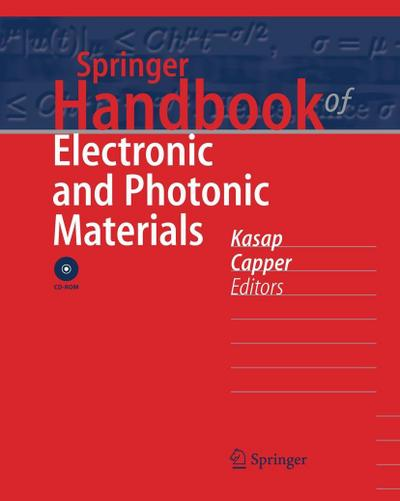 Springer Handbook of Electronic and Photonic Materials, w. CD-ROM