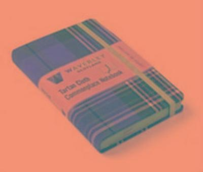 MacLean of Duart: Waverley Genuine Tartan Cloth Commonplace Notebook (9cm x 14cm)