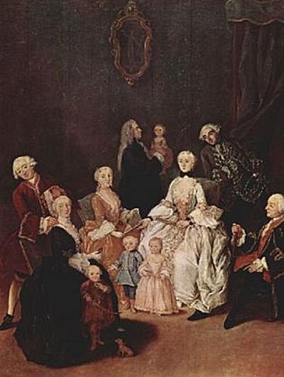 Pietro Longhi - Porträt einer Patrizierfamilie - 200 Teile (Puzzle)