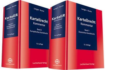 Kartellrecht (KartellR), Kommentar, 2 Bde.