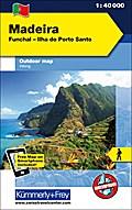 KuF Madeira Outdoorkarte 1 : 40 000