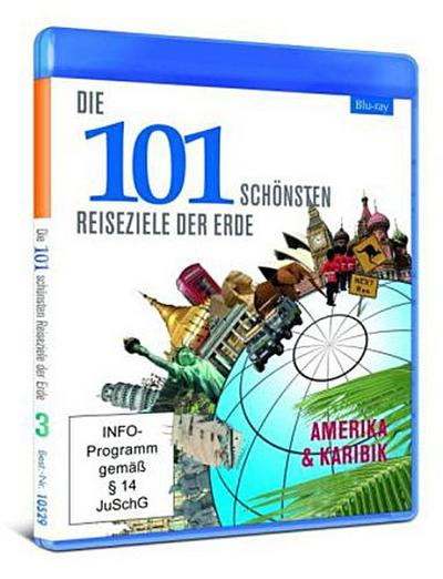 Die 101 schönsten Reiseziele der Erde - 3 - Amerika & Karibik [Blu-ray]