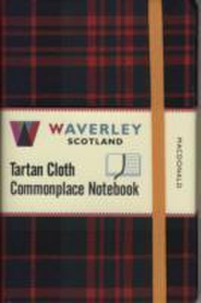 MacDonald: Waverley Genuine Tartan Cloth Commonplace Notebook (9cm x 14cm)