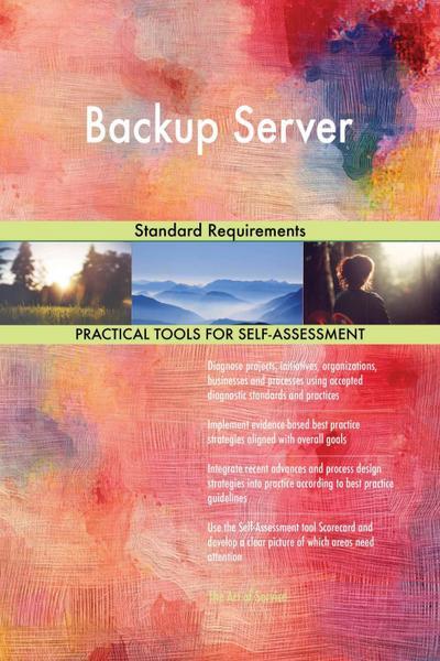 Backup Server Standard Requirements