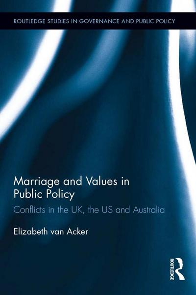 Marriage and Values in Public Policy