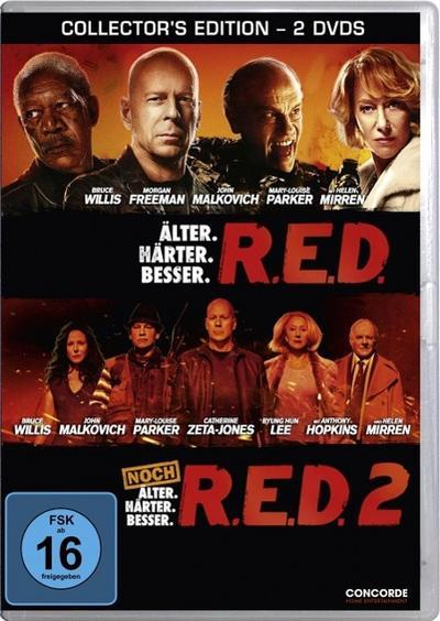 R.E.D. / R.E.D. 2 - DVD Collector's Edition