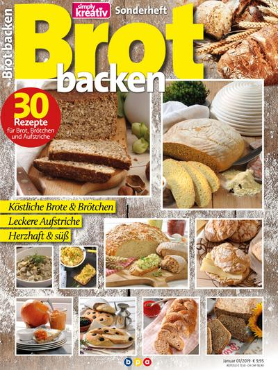 Simply kreativ - Sonderheft - Brot backen