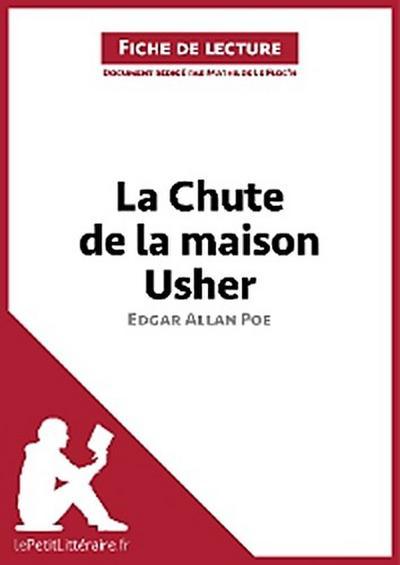 La Chute de la maison Usher d'Edgar Allan Poe (Fiche de lecture)