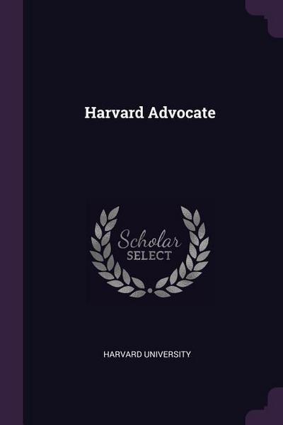 Harvard Advocate