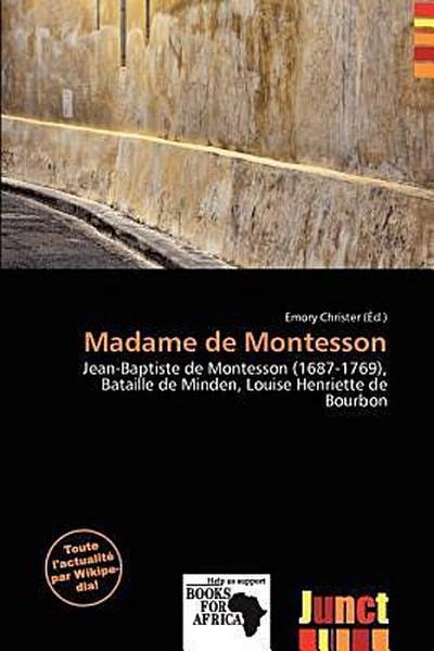 MADAME DE MONTESSON