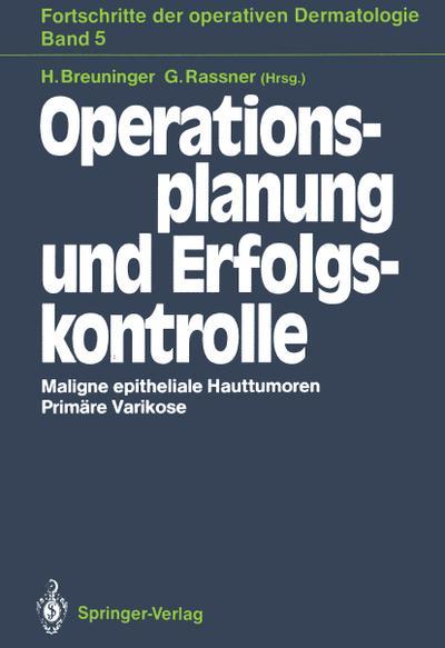 Operationsplanung und Erfolgskontrolle