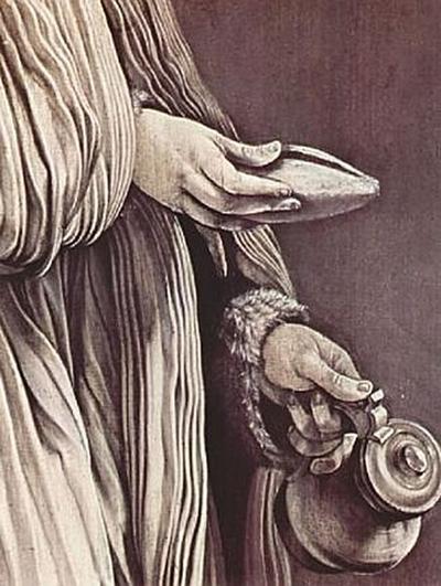 Mathis Gothart Grünewald - Hl. Elisabeth von Thüringen, Detail - 200 Teile (Puzzle)