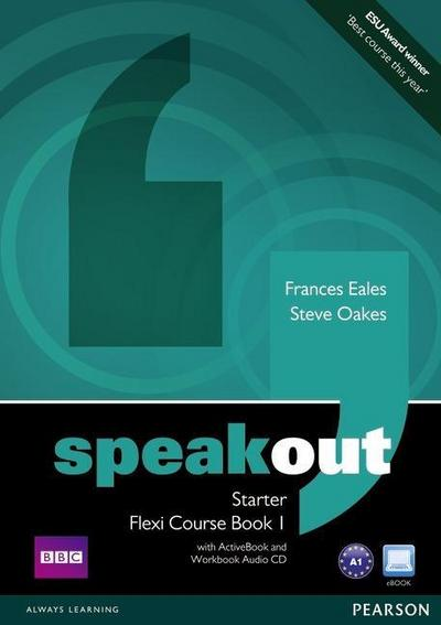 Speakout Starter Flexi Course Book 1