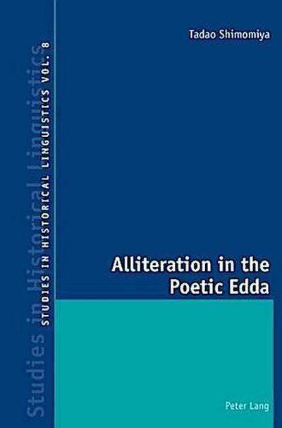 Alliteration in the Poetic Edda