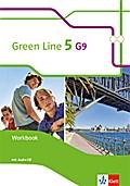 Green Line 5 (G9) Workbook mit  Audio CD. Klasse 9