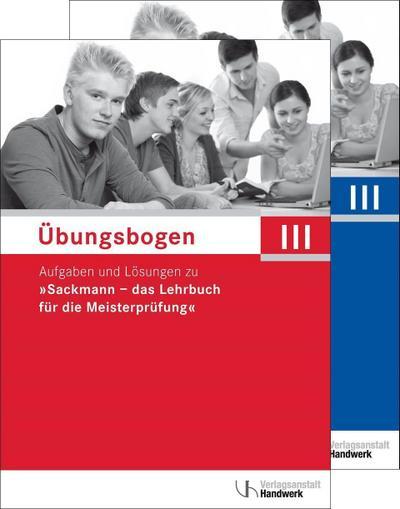 Übungsbogen für die Meisterprüfung Teil III