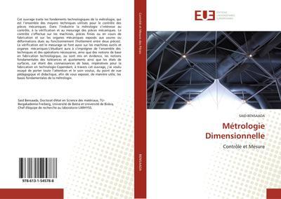 Métrologie dimensionnelle - Bensaada-S