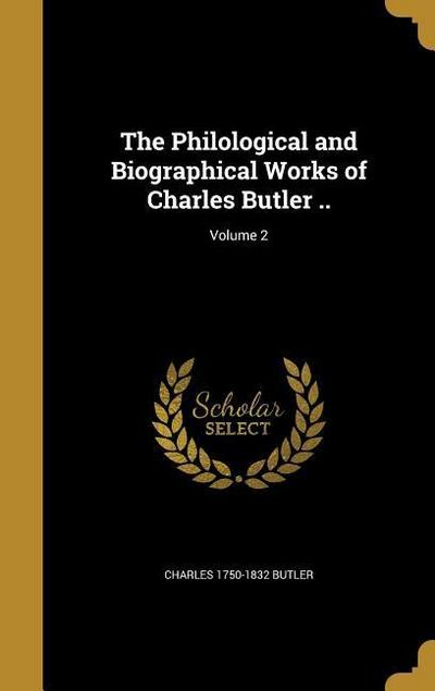 PHILOLOGICAL & BIOGRAPHICAL WO