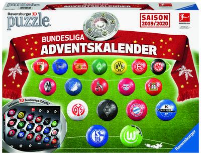 Bundesliga Adventskalender Saison 2019/2020 (Puzzle)