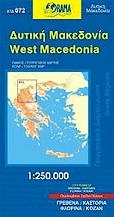 West Macedonia 1 : 250 000