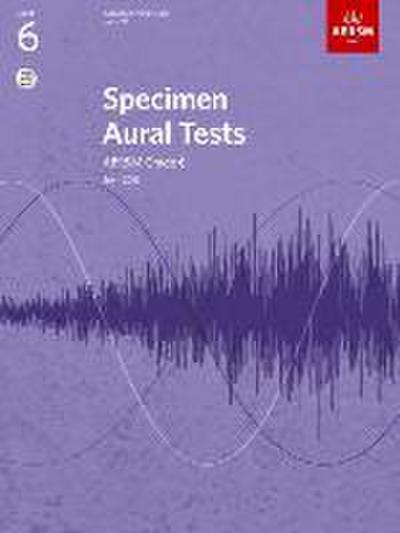 Specimen Aural Tests, Grade 6 with CD