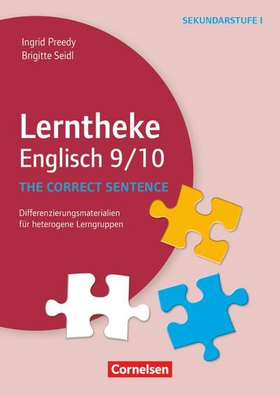 Lerntheke - Englisch:The correct sentence: 9/10