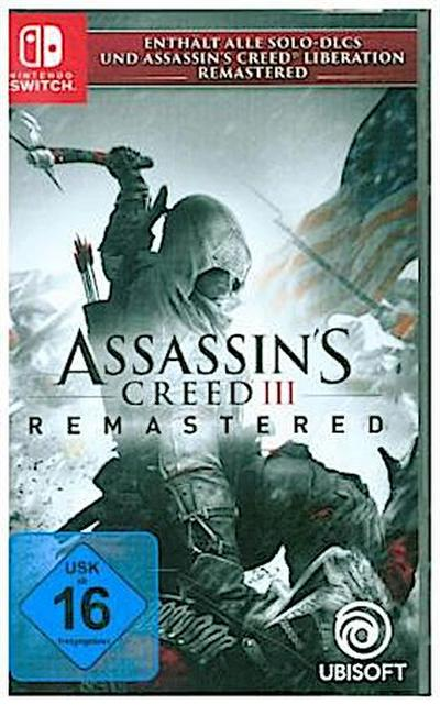Assassin's Creed 3, Remastered, 1 Nintendo Switch-Spiel