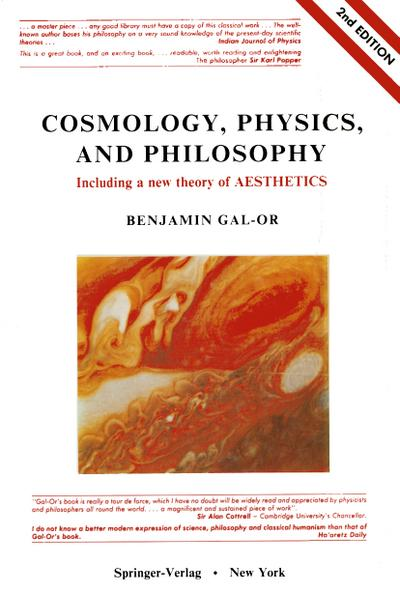 Cosmology, Physics, and Philosophy