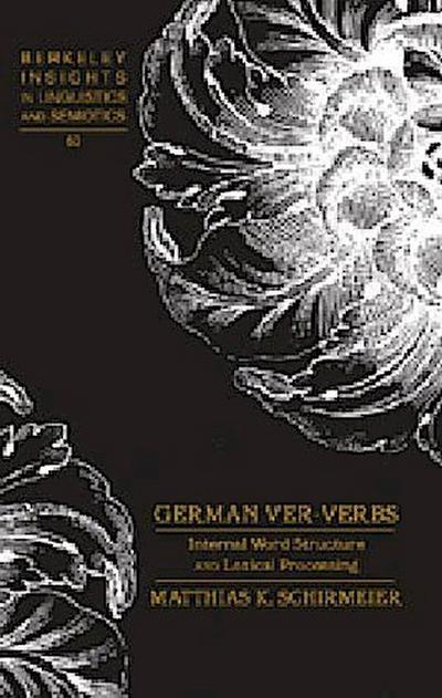 German ver-Verbs