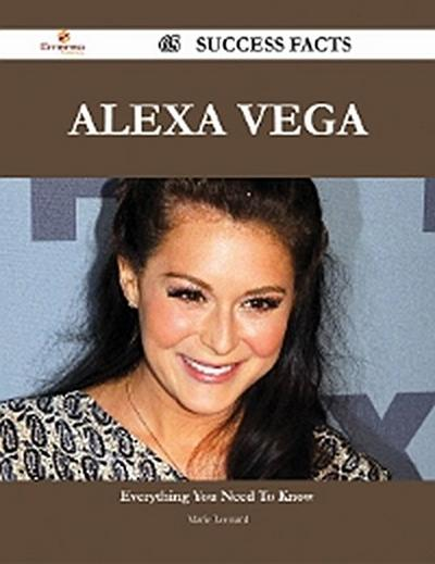 Alexa Vega 65 Success Facts - Everything you need to know about Alexa Vega