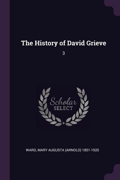 The History of David Grieve: 3