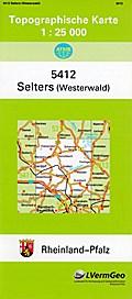 Selters (Westerwald) 1 : 25 000