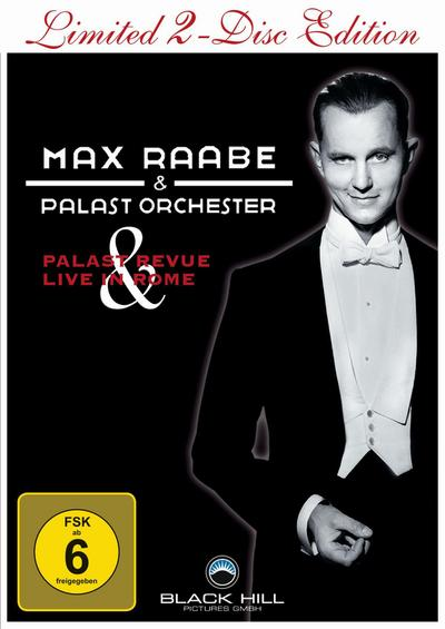 Max Raabe & Palast Orchester  Palast Revue & Live in Rome, 2 DVD