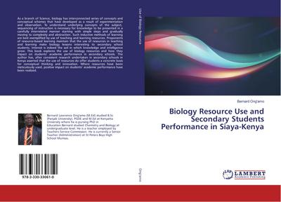 Biology Resource Use and Secondary Students Performance in Siaya-Kenya