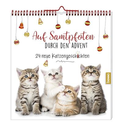 Adventskalender »Auf Samtpfoten durch den Advent«