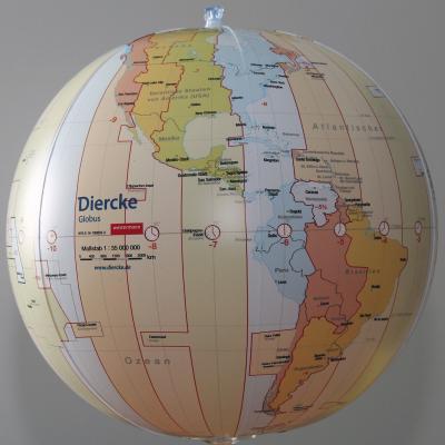 Diercke. Wasserball Zeitzonen