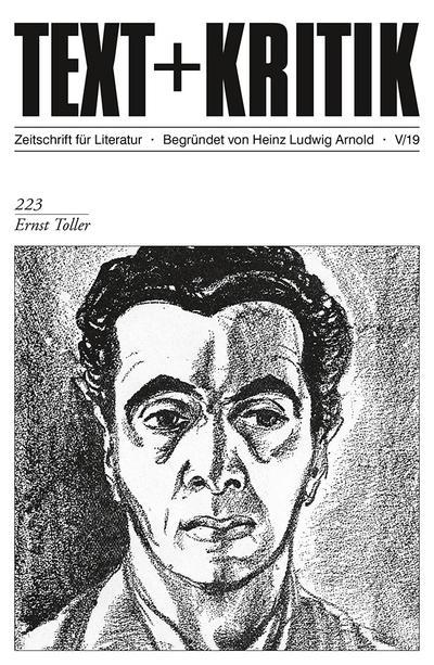 TEXT + KRITIK 223 - Ernst Toller