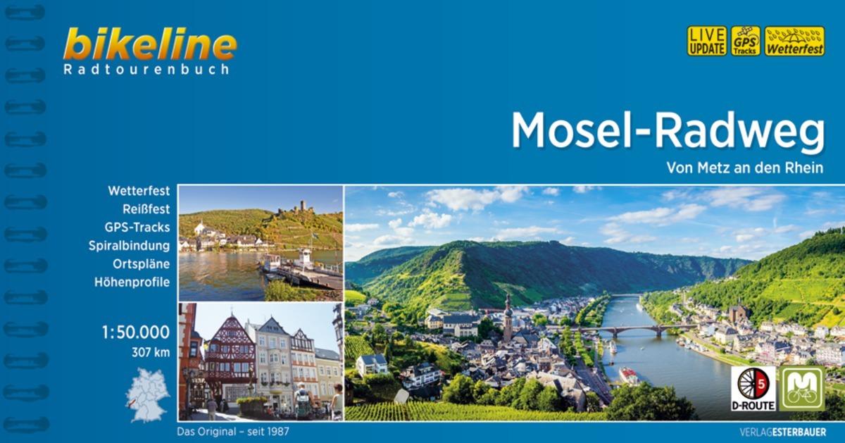 Bikeline Mosel-Radweg Esterbauer Verlag