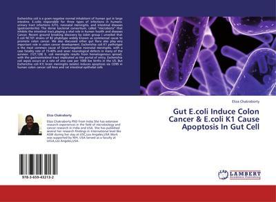 Gut E.coli Induce Colon Cancer & E.coli K1 Cause Apoptosis In Gut Cell